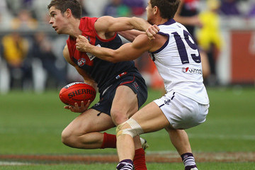 Clayton Hinkley AFL Rd 13 - Melbourne v Fremantle