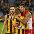Sam Mitchell and Lance Franklin Photos