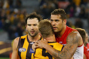 Sam Mitchell and Lance Franklin Photos Photo