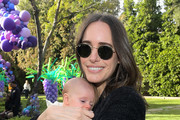 Louise Roe and daughter Honor Florence Crosby attend AKID Brand's 3rd Annual 'The Egg Hunt' at Lombardi House on March 17, 2018 in Los Angeles, California.