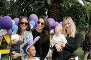 Shay Mitchell (C) attends the AKID Brand's 3rd Annual 'The Egg Hunt' at Lombardi House on March 17, 2018 in Los Angeles, California.