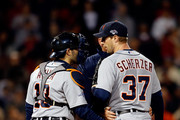 Max Scherzer and Alex Avila  Photos Photo