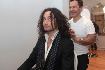 Ricardo Rojas ALLURE Best In Beauty Awards Presenters Get Ready At Ricardo Rojas Salon