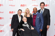 Mari Winsor,  Jennifer Lucas, Bryon Allen and Fred Fisher attend ALS Golden West Chapter Hosts Champions For Care And A Cure at The Fairmont Miramar Hotel & Bungalows on December 2, 2017 in Santa Monica, California.