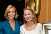 "Melissa Caulfield (L) and actress Juliet Mills attend the screening of ""Goodbye, Mr. Chips"" at AMPAS Samuel Goldwyn Theater on June 29, 2009 in Beverly Hills, California."