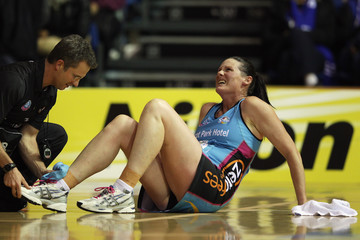 Donna Wilkins ANZ Championship Netball - Northern Mystics v Southern Steel