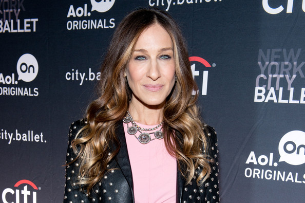 Executive producer Sarah Jessica Parker attends AOL On's 'city.ballet' series premiere at Tribeca Cinemas on November 4, 2013 in New York City.