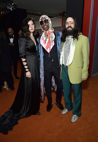 Lana Del Rey Asap Rocky Alessandro Michele Asap Rocky Photos 2018 Lacma Art Film Gala Honoring Catherine Opie And Guillermo Del Toro Presented By Gucci Inside Zimbio