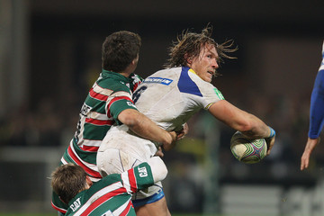 Toby Flood Ben Youngs ASM Clermont Auvergne v Leicester Tigers - Heineken Cup
