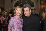 Linda Lloyd Lambert and Isaac Mizrahi attend the 21st Annual Bergh Ball hosted by the ASPCA at The Plaza Hotel on April 19, 2018 in New York City.
