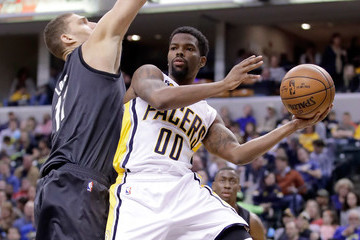 Aaron Brooks Brooklyn Nets v Indiana Pacers