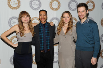 Aaron Clifton Moten Arrivals at the Steinberg Playwright 'Mimi' Awards
