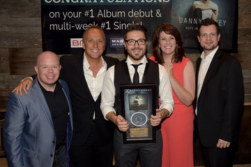 Aaron Crisler Danny Gokey Celebrates His Number One Song