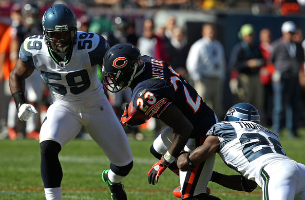 Aaron Curry - Seattle Seahawks v Chicago Bears
