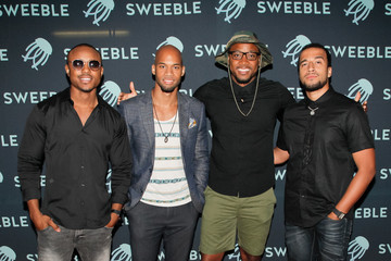 Aaron Curry Guests Attend the Sweeble and Arsenic Magazine Party