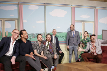 Aaron Paul Paul F. Tompkins 2020 Getty Entertainment - Social Ready Content