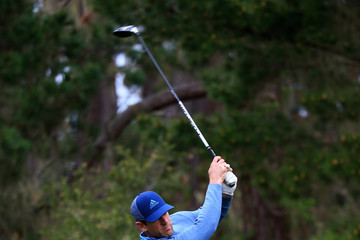 Aaron Rodgers AT&T Pebble Beach Pro-Am - Round Two