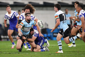 Aaron Woods NRL Rd 6 - Sharks v Bulldogs