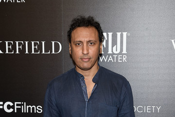 Aasif Mandvi The Cinema Society and FIJI Water Host a Screening of IFC Films' 'Wakefield' - Arrivals