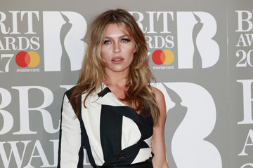 Abbey Clancy The BRIT Awards 2017 - Red Carpet Arrivals