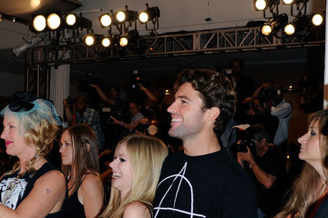 Avril Lavigne Brody Jenner Abbey Dawn By Avril Lavigne - Arrivals And Front Row - Spring 2012 Style360