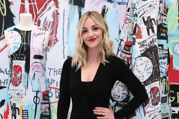 Abby Elliott alice + olivia x Basquiat CFDA Capsule Collection Launch Party