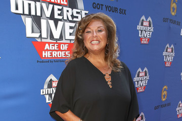 Abby Lee Miller Marvel Universe LIVE! Age of Heroes World Premiere Celebrity Red Carpet Event
