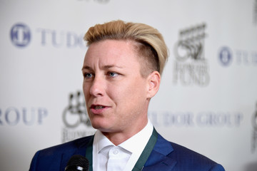 Abby Wambach 32nd Annual Great Sports Legends Dinner to Benefit the Miami Project/Buoniconti Fund To Cure Paralysis - Legends Reception