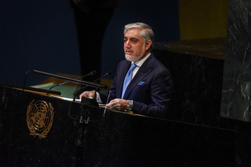 Abdullah Abdullah World Leaders Address The United Nations General Assembly