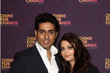 "Abhishek Bachchan Media Room At ""Chime For Change: The Sound Of Change Live"" Concert"