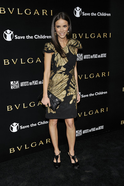 Abigail Spencer Abigail Spencer arrives for a BVLGARI fundraiser benefitting Save The Children and Artists For Peace held at a private residence on January 13, 2011 in Beverly Hills, California.