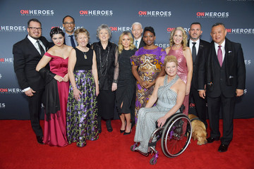 Abisoye Ajayi-Akinfolarin 12th Annual CNN Heroes: An All-Star Tribute - Red Carpet Arrivals