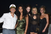 W Hotels Global Brand Leader Anthony Ingham, Chanel Iman, Coco Rocha Taylor Schilling and Erin Heatherton attend All Aboard! as W Hotels toasts the upcoming opening of W Amsterdam with 'Captains' Taylor Schilling, Erin Heatherton, Chanel Iman, Coco Rocha and more on the Grand Banks on August 18, 2015 in New York City.