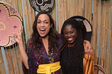 Abrima Erwiah Studio 189 By Rosario Dawson And Abrima Erwiah - Front Row - September 2017 - New York Fashion Week: Style360