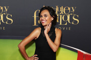 Miranda Tapsell arrives ahead of the Absolutely Fabulous The Movie Australian premiere at State Theatre on July 31, 2016 in Sydney, Australia.