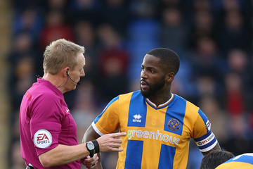Abu Ogogo Shrewsbury Town v Northampton Town - Sky Bet League One