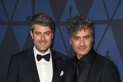 (L-R) Carthew Neal and Taika Waititi attend the Academy Of Motion Picture Arts And Sciences' 11th Annual Governors Awards at The Ray Dolby Ballroom at Hollywood & Highland Center on October 27, 2019 in Hollywood, California.