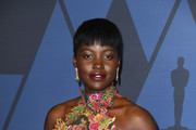 Lupita Nyong'o attends the Academy Of Motion Picture Arts And Sciences' 11th Annual Governors Awards at The Ray Dolby Ballroom at Hollywood & Highland Center on October 27, 2019 in Hollywood, California.