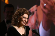 Sophia Loren speaks onstage during the Academy Of Motion Picture Arts And Sciences' 11th Annual Governors Awards at The Ray Dolby Ballroom at Hollywood & Highland Center on October 27, 2019 in Hollywood, California.