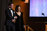 (L-R) Jon Hamm and Sophia Loren speak onstage during the Academy Of Motion Picture Arts And Sciences' 11th Annual Governors Awards at The Ray Dolby Ballroom at Hollywood & Highland Center on October 27, 2019 in Hollywood, California.