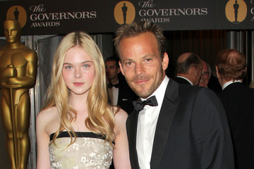 Elle Fanning Stephen Dorff Academy Of Motion Picture Arts And Sciences' 2nd Annual Governors Awards