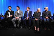 "(L-R) Director/producer Bennett Miller, actor Channing Tatum, actor Steve Carell, actress Vanessa Redgrave and producer Jon Kilik attend The Academy of Motion Picture Arts and Sciences hosts an official academy members screening of ""Foxcatcher"" at The Academy Theatre at Lighthouse International on November 11, 2014 in New York City."
