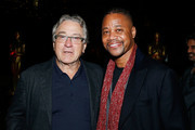 Actors Robert De Niro and Cuba Gooding Jr. attend The Academy of Motion Picture Arts and Sciences 2018 New Members Party at Top of the Rock's 620 Loft and Garden on October 1, 2018 in New York City.