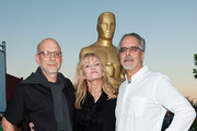 Paul Brickman, Rebecca De Mornay and Jon Avnet attends The Academy Of Motion Picture Arts And Sciences' Oscars Outdoors Screening Of 'Risky Business' on July 17, 2013 in Hollywood, California.