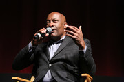 """Director John Singleton attends a discussion at the """"Spotlight On Screenwriting: Boyz n the Hood 25th Anniversary Screening With John Singleton And Walter Mosley"""" presented by The Academy Of Motion Picture Arts And Sciences at SVA on June 12, 2016 in New York City."""