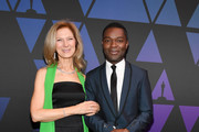 Dawn Hudson and David Oyelowo attend The Academy of Motion Picture Arts and Sciences' Scientific and Technical Awards Ceremony on February 09, 2019 in Beverly Hills, California.