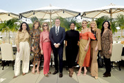 Zoe de Givenchy,  Jennifer Flavin Stallone, Dawn Hudson, Bill Kramer, Nicole Avant, Elizabeth Chambers, Irena Medavoy and Malak Santini attend Academy Museum of Motion Pictures Luminaries Luncheon Supported by JP Morgan Chase & Co at Academy Museum of Motion Pictures on January 28, 2020 in Los Angeles, California.