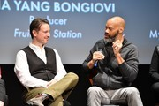 (L-R) Writer-director Matt Reeves and writer John Ridley speak onstage at The Academy Presents The 2017 Careers In Film Summit at Samuel Goldwyn Theater on October 14, 2017 in Beverly Hills, California.