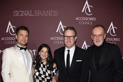 (L-R) Joshua Jackson, guest, Todd Snyder, and Jim Moore attend as the Accessories Council Hosts The 23rd Annual ACE Awards on June 10, 2019 in New York City.