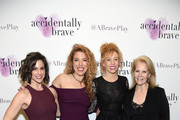 "Natalie Roy, director Kristin Hanggi, Maddie Corman and Daryl Roth attend the ""Accidentally Brave"" Opening Night at DR2 Theatre on March 25, 2019 in New York City."